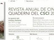 Presentación Nuevo Número Quaderni CSCI