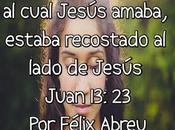 Recostado sobre Jesús