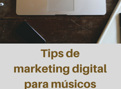 Tips marketing digital para músicos