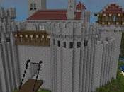 Castillo Medieval inventado Alberto Santamarina Minecraft.