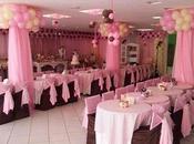 Hermosos adornos globos para decorar cumpleaños niña