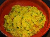 Patatas fritas ajillo azafrán (Cocina tradicional) Recetas fáciles Loli Domínguez