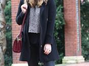 Outfit total black para invierno