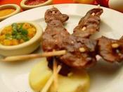 Cuatro imagenes comidas criollas carne ricas peruanas