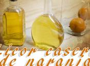 Licor casero naranja