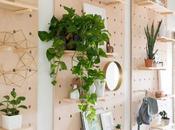 tablero organizador estantería, perfecto para entradas pasillos