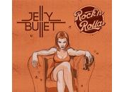 Jelly Bullet Rock Rolla perro parte atrás coche