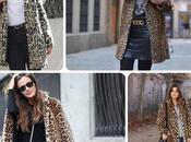Como combinar abrigo estampado leopardo