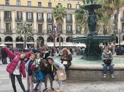 Gincana infantil buscadores dragones Barcelona