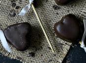 Cómo hacer cake pops corazón chocolate. Receta