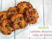 Galletas quinoa chocolate