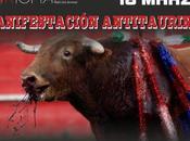 Manifestación antitaurina Valencia. Marzo