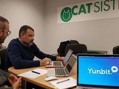 Sistemas impulsa negocio mano Yunbit