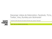 para bajar videos Redes Sociales