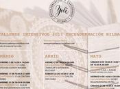 Próximos Talleres 2017 Encuadernación Bilbao.