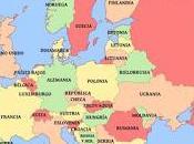 Mapa Europa. Todos años
