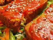 Pastel verduras vegano harina garbanzos