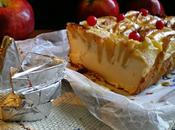 Pastel quesitos manzanas