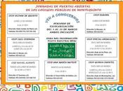 """Jornada """"Puertas Abiertas"""" Colegios Públicos Montequinto"""