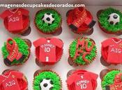 Cuatro imagenes hermosos cupcakes cumpleaños para hombre