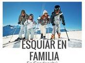 Skiar familia candanchú
