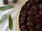 pecan chocolate amargo delicia otoñal