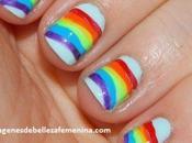 Cuatro imagenes uñas pintadas para niñas diseño facil