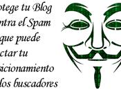 Protege blog contra spam