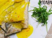 RODABALLO SALSA AZAFRÁN (Receta fácil pescado)