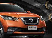 Nissan Kicks, crossover premiado América Latina