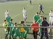 """Padre hijo intentan agredir rivales tras expulsión. """"paletismo"""" agresivo instala definitivamente fútbol base"""
