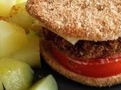 Hamburguesa soja verduras