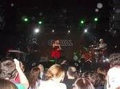 Concierto fuel fandango sala caracol madrid: música pasión teñidas rojo negro