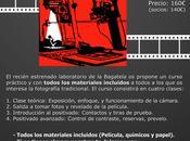 Curso fotografía analógica laboratorio blanco negro