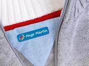 Sorteo stikets, etiquetas para marcar ropa infantil