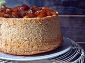 Chiffon cake manzana caramelo