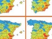 Impactos cambio climático procesos desertificación España