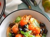 Espaguetis Puttanesca