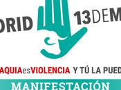 Manifestación #Tauromaquiaesviolencia puedes parar. Madrid Mayo).