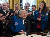 Trump firmó donde define como objetivo principal #Nasa llegar #Marte