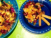 Receta saludable ligera: Ensalada col, ajos pimentón