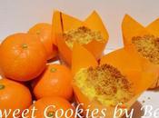 Muffins mandarina crujiente galleta