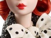 Black White Tweed Suit Barbie Doll, silkstone antes