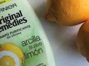 Arcilla suave limón Garnier