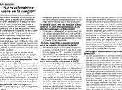 entrevistas HIJOS Mario Roberto Santucho. (1996)