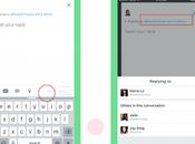 Twitter permite aprovechar caracteres respuestas
