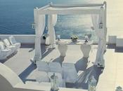 Boda Blanca Azul Santorini.