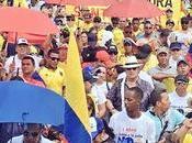 Colombia marcha contra Santos