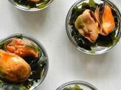 Mejillones Picantes Algas Wakame, Aperitivo perfecto