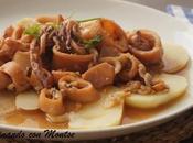 Calamares salsa almendras